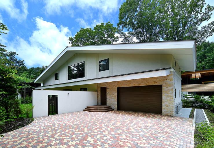 施行事例1: 株式会社 北川原環境建築設計事務所が手掛けた家です。