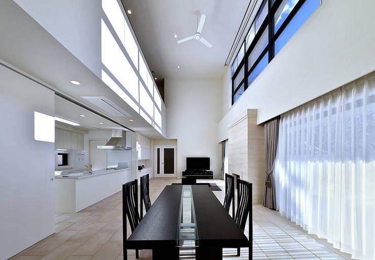 施行事例1: 株式会社 北川原環境建築設計事務所が手掛けた窓です。