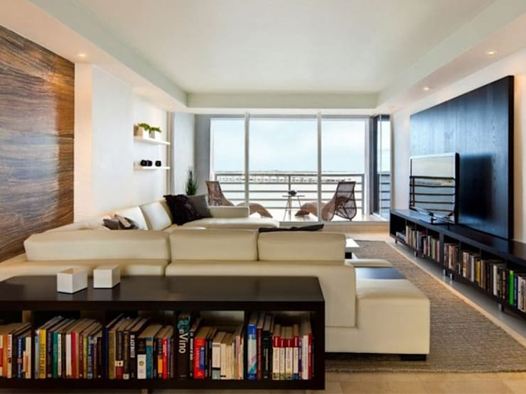 Apartment:  Living room by Saloni Design