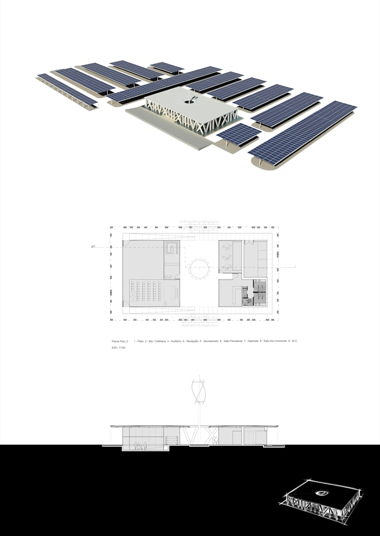Parque Solar Fotovoltaico – Odivelas:   por Polys
