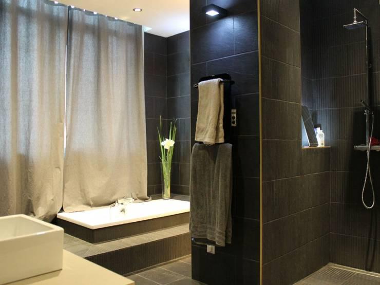 Appartement Salle De Bains Style Par Atrmosphere Agencement