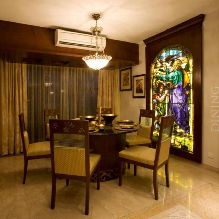 Apartment:  Dining room by archana_kejriwal,Modern