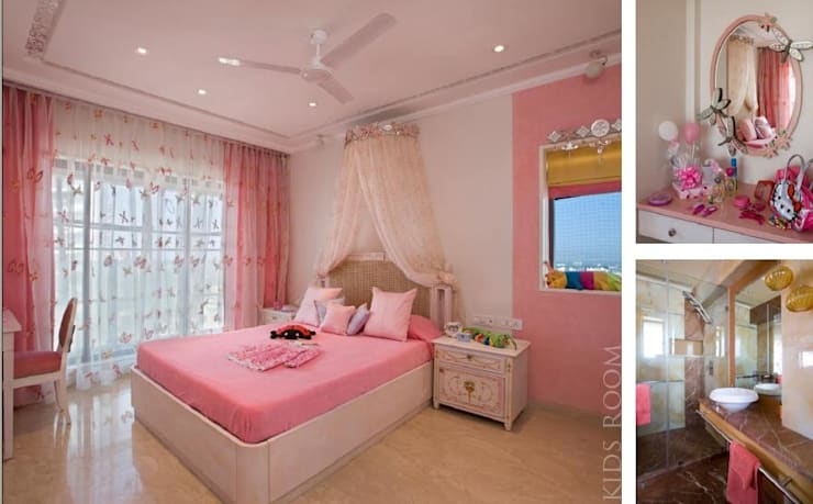 Apartment:  Nursery/kid's room by archana_kejriwal,Modern