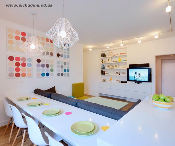 Гостиная в . Автор – Tatyana Pichugina Design