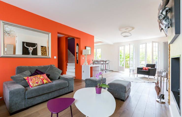 modern Living room by Katia Rocchia Home Designer
