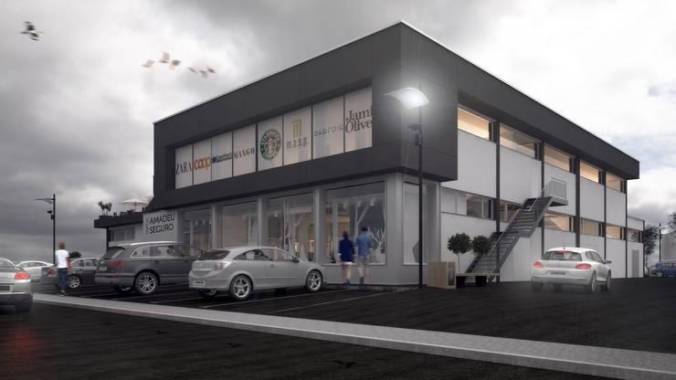 Edifício Amadeu Seguro: Casas  por Rúben Ferreira | Arquitecto