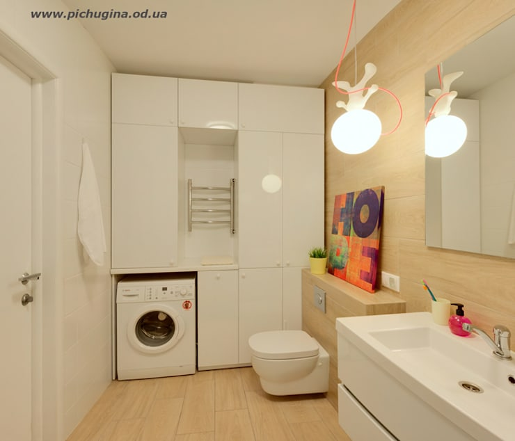 Baños de estilo  por Tatyana Pichugina Design
