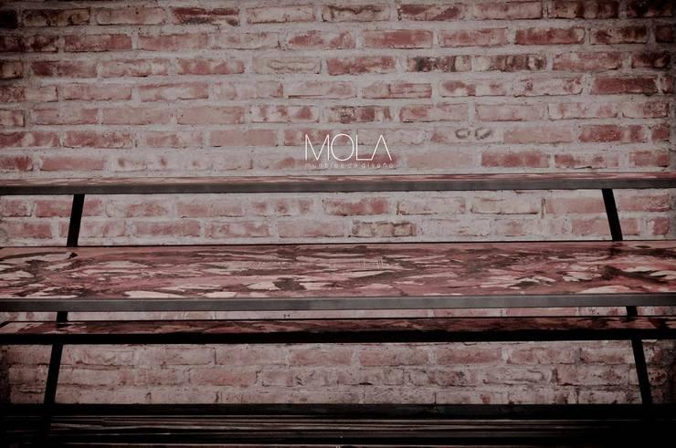 Estantres Dj de MOLA Moderno Hierro/Acero