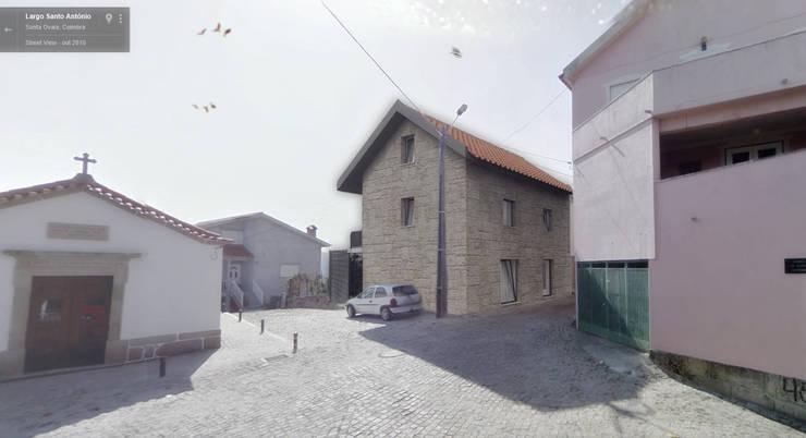 Casa D: Casas  por Rúben Ferreira | Arquitecto