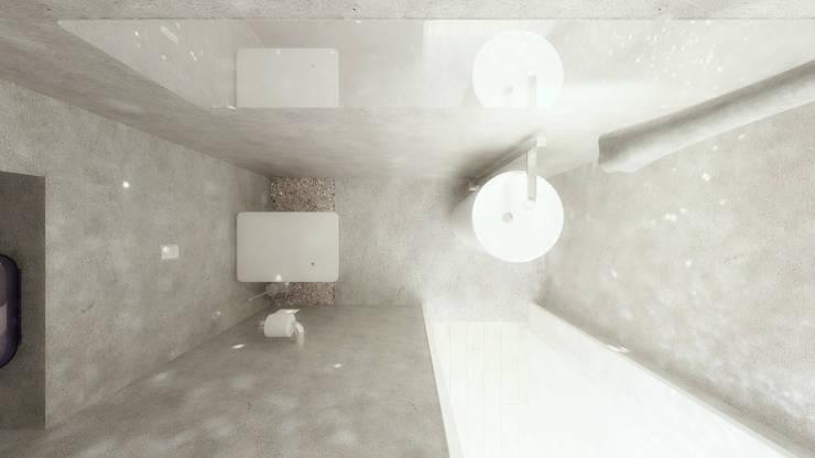 Casa D: Casas de banho  por Rúben Ferreira | Arquitecto