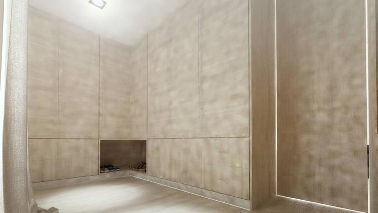 Casa D: Closets  por Rúben Ferreira   Arquitecto
