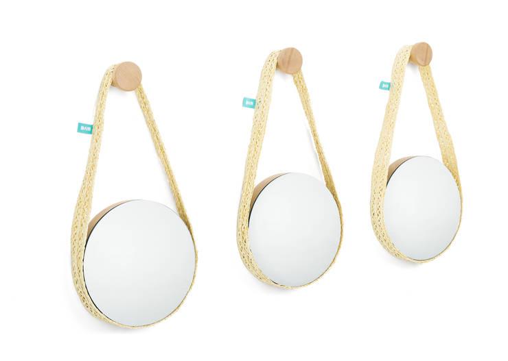 BELA (espelho pequeno): Casa  por DAM