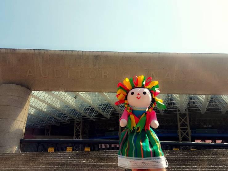 Muñecas de Trapo – María Juana Art: Hogar de estilo  por Maria Juana Art