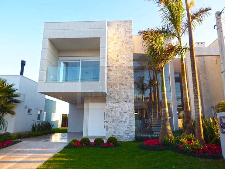 Casa J1: Casas  por Cipriani Arquitetura e Construção