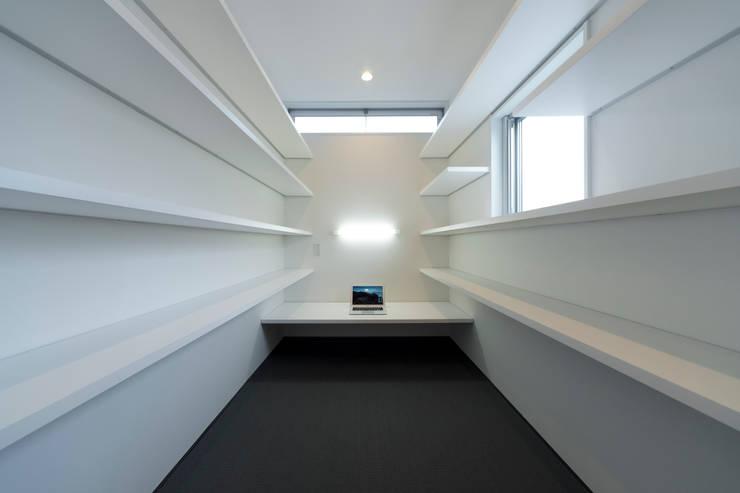 対の棲家 書斎: フォーレストデザイン一級建築士事務所が手掛けたです。