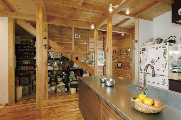 施工事例: 株式会社Add設計工房が手掛けたキッチンです。