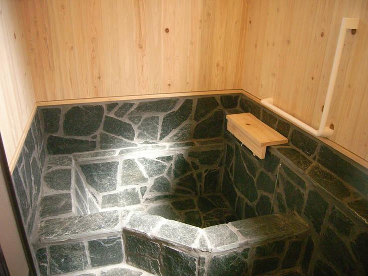 施工事例: drem.tao.koubouが手掛けた浴室です。