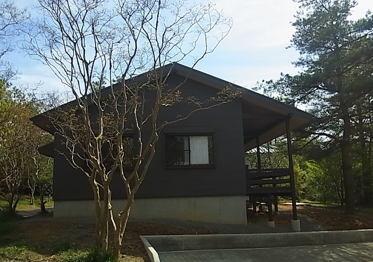 施工事例: drem.tao.koubouが手掛けた家です。