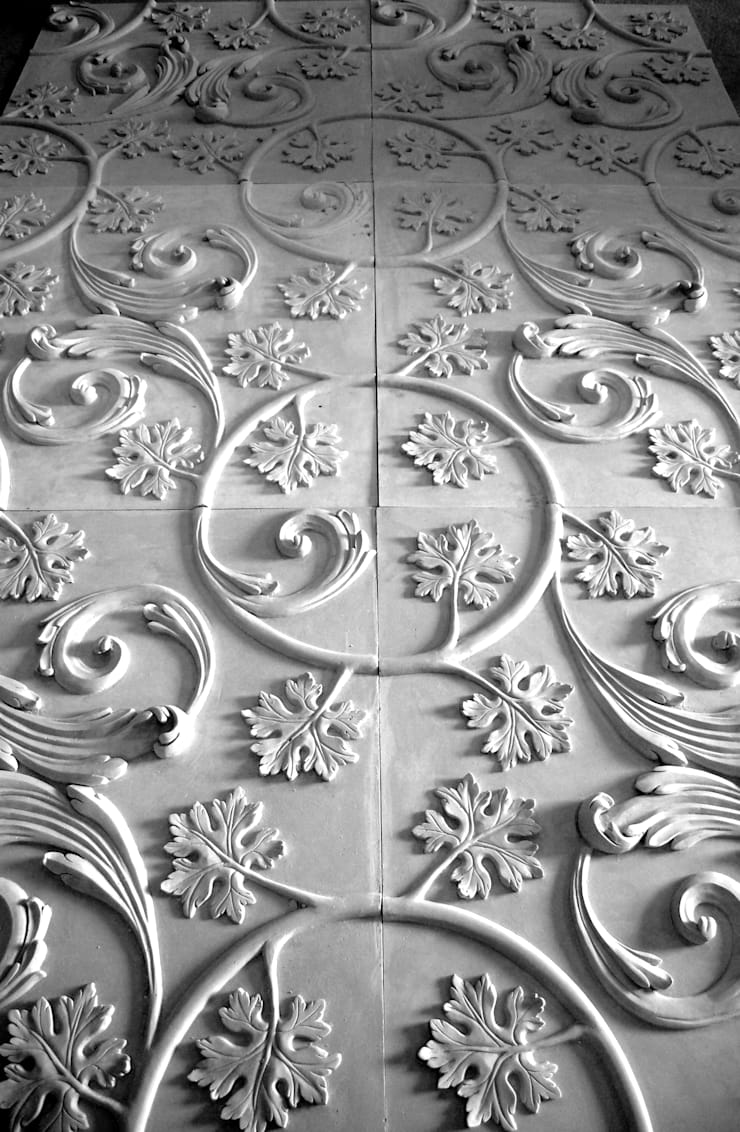 Tecto Principe Real:   por Iva Viana Atelier de Escultura