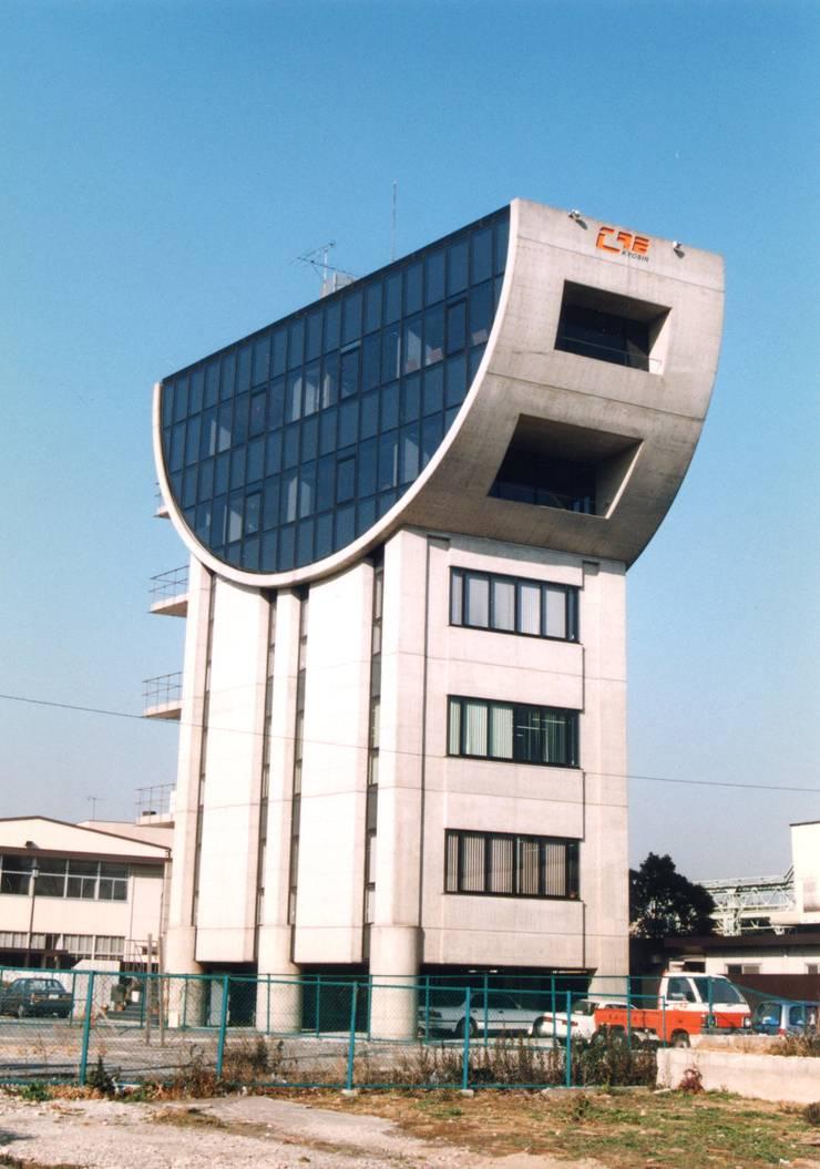 協進建設ビルファサード: nakajimaが手掛けたオフィスビルです。
