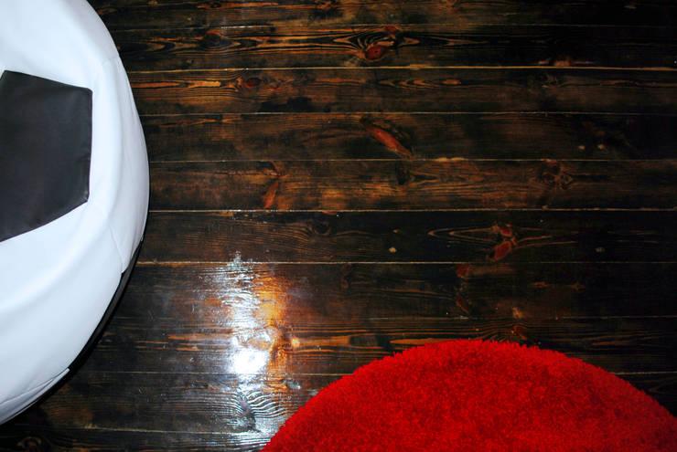 Спальня футбольного болельщика: Стены в . Автор – ИП  Матехина Марина Андреевна