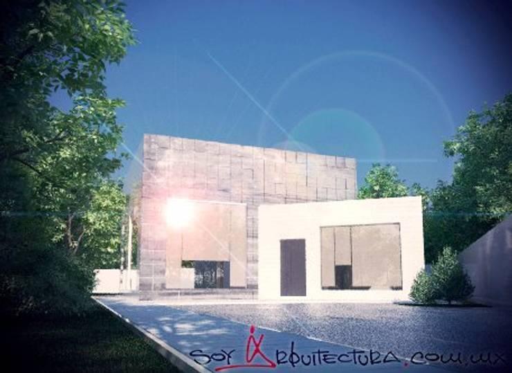 ¿Quienes Somos?: Casas de estilo  por Soy Arquitectura