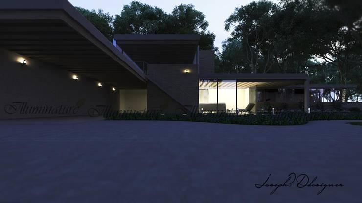 Espacios: Casas de estilo  por Iluminature