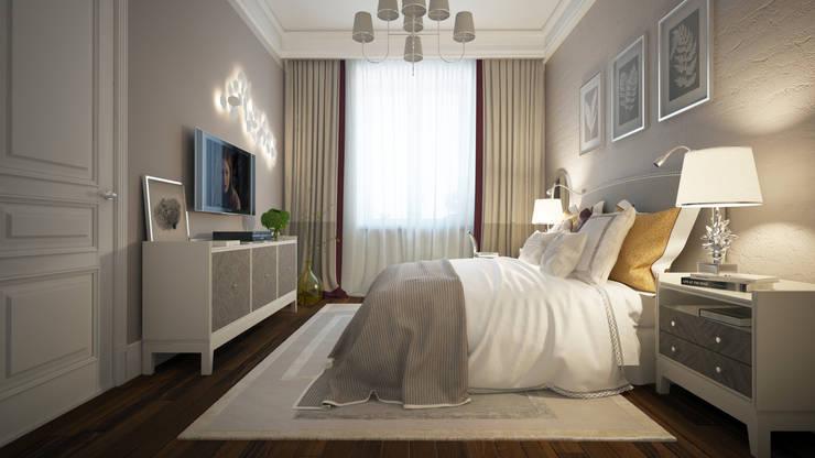 Квартира KMp: Спальни в . Автор – KYD BURO