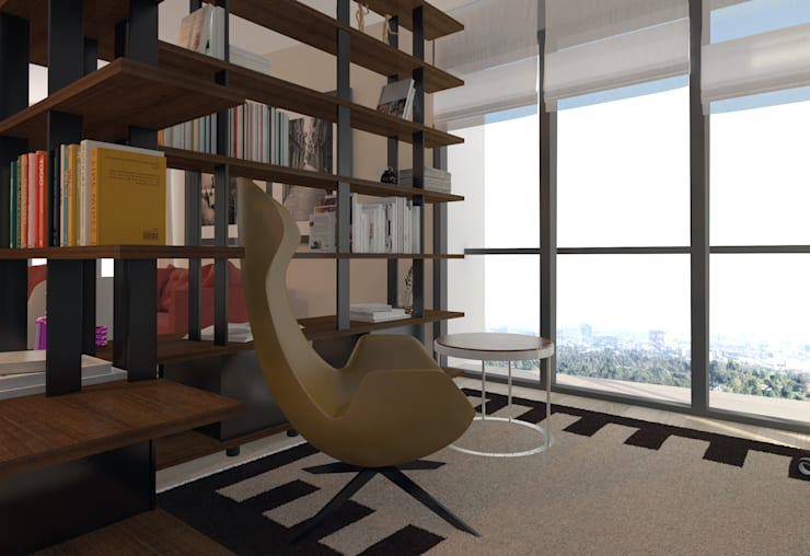 Abb Design Studio – Mesa Koza 66 – Örnek Daire:  tarz İç Dekorasyon