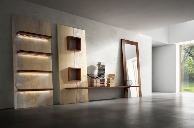 Walls & flooring by Dughiero studio