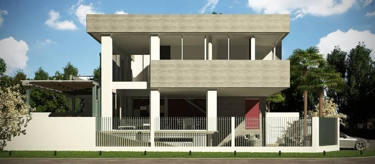 Casa Santamarina: Casas de estilo  por betta arquitectos