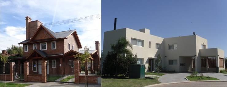 Casas Unifamiliares: Casas de estilo  por soledad