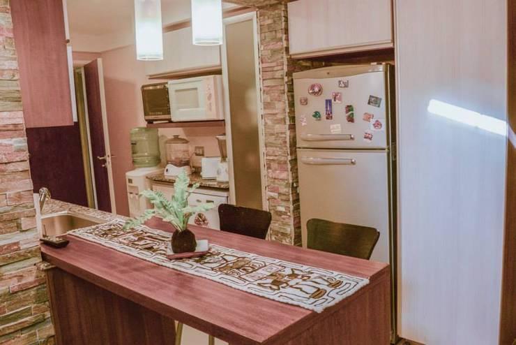 Remodelación Interior Vivienda: Comedores de estilo  por D&C Interiores