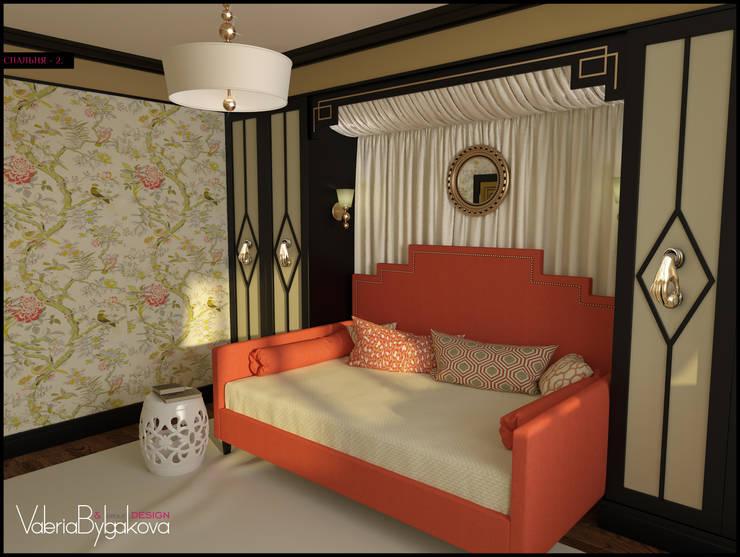 Квартира текстильщики: Спальни в . Автор – Valeria Bylgakova&Design group