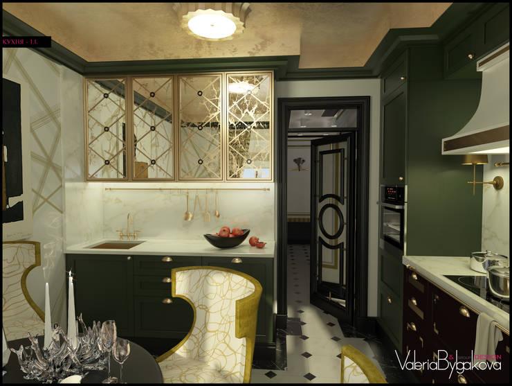 Квартира текстильщики: Кухни в . Автор – Valeria Bylgakova&Design group