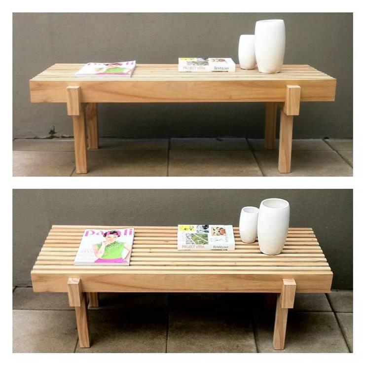 Espacios y Muebles by MO: Livings de estilo moderno por Mobiliario Objetos MO