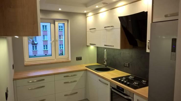 Kuchnia 1: styl , w kategorii Kuchnia zaprojektowany przez Biuro Projektowe MEBELING Rafał Dorsch