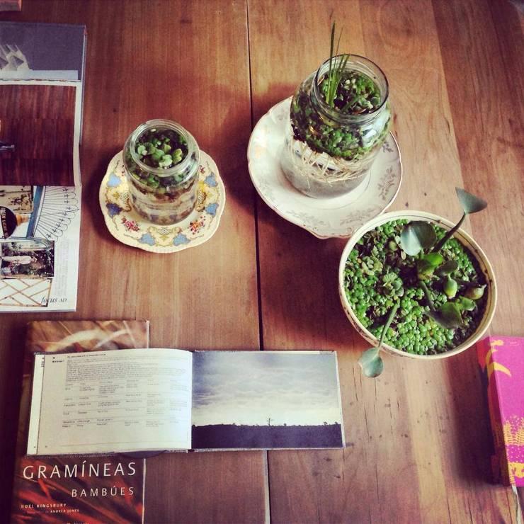 SOPORTES: Balcones y terrazas de estilo  por ciabotanica