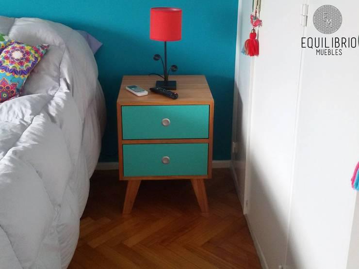 Bedroom by EQUILIBRIO MUEBLES