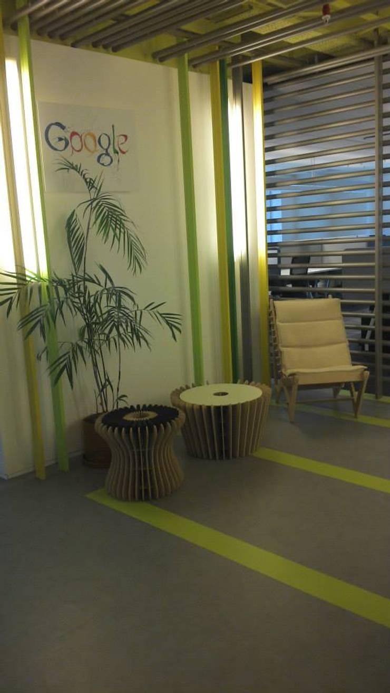 Mobiliario de bajo impacto ambiental - Para Google: Livings de estilo  por gruba,
