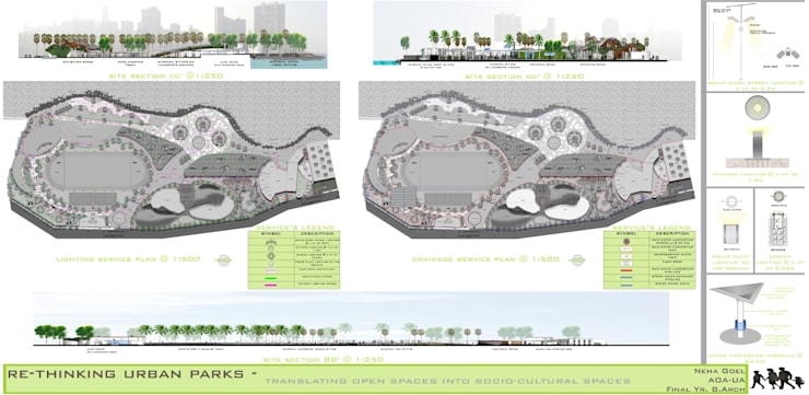 Re-Thinking Urban Parks:  Museums by Neha Goel Architects,Modern