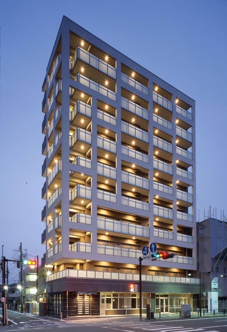 メゾン柳: nakajimaが手掛けた家です。,モダン