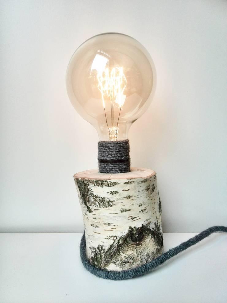 WoodWoolDesign en Edison:   door WoodWoolDesign, Scandinavisch