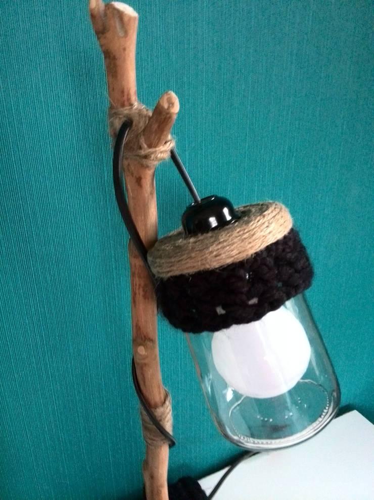 Potlampen met een twist:   door WoodWoolDesign, Scandinavisch