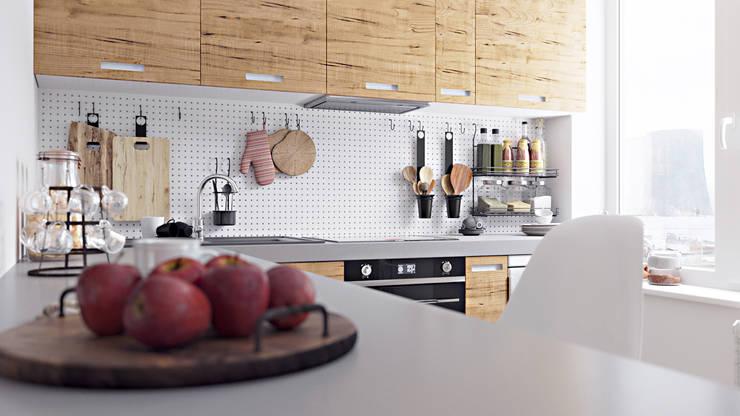 scandinavische Keuken door homify