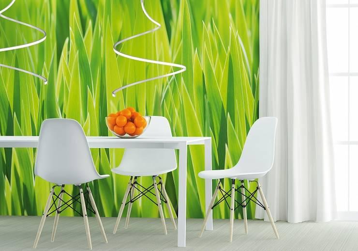 Żyrandol Lungo w jadalni.: styl , w kategorii Jadalnia zaprojektowany przez Ekotechnik24.pl - lampy na indywidualne zamówienie