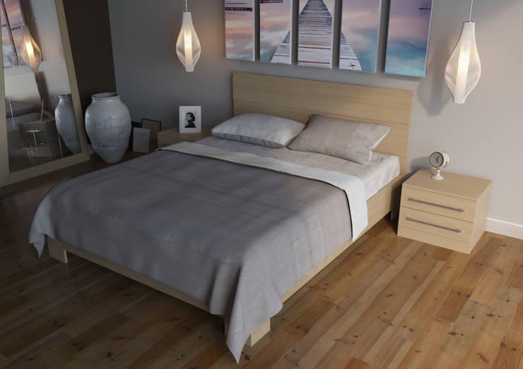Комплекты постельные: Спальная комната  в . Автор – 2GO Design Studio