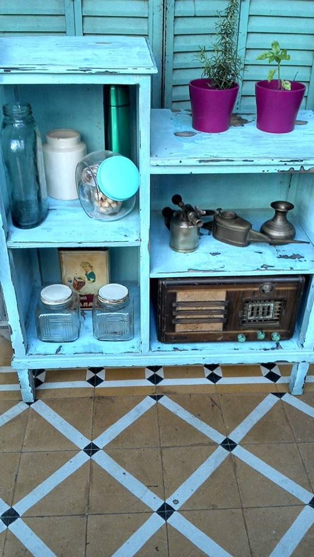 ANTIGUA ALACENA/REPISA: Cocinas de estilo  por Muebles eran los de antes - Buenos Aires