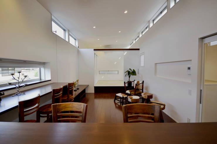 クグリノイエ LDK: フォーレストデザイン一級建築士事務所が手掛けたです。