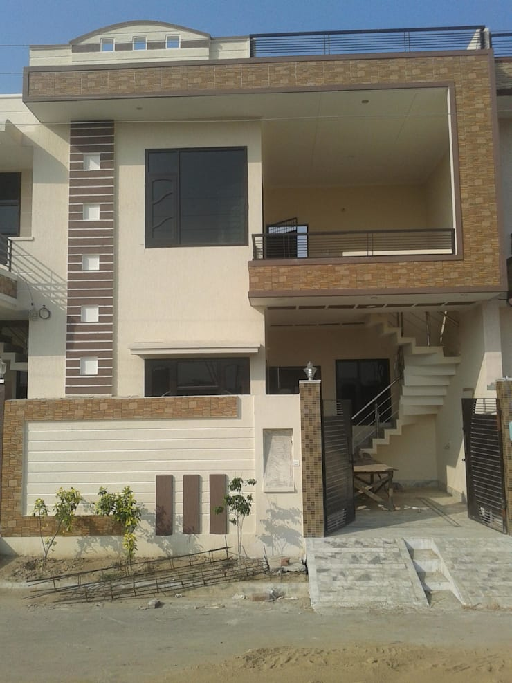 Asian style house by S.R. Buildtech – The Gharexperts Asian